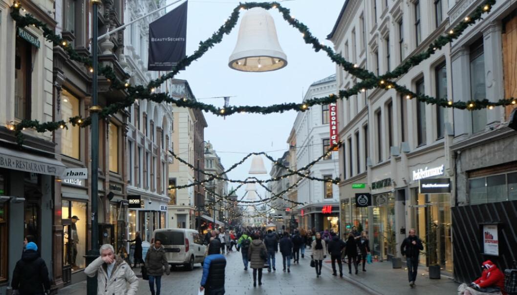 NHO Service & Handel forventer god vekst i årets julehandel.