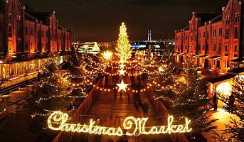 Tynn julehandel ga et lite børsfall