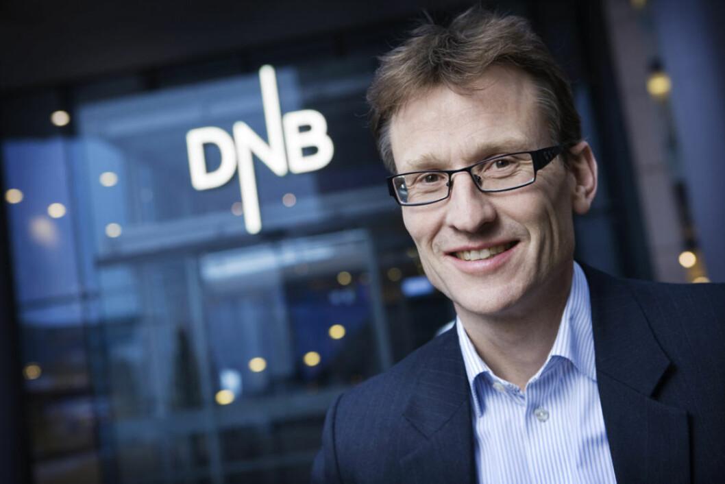 Knut A. Magnussen: – Britisk detaljhandel utviklet seg veldig sterkt de to siste årene. (Foto: DNB)
