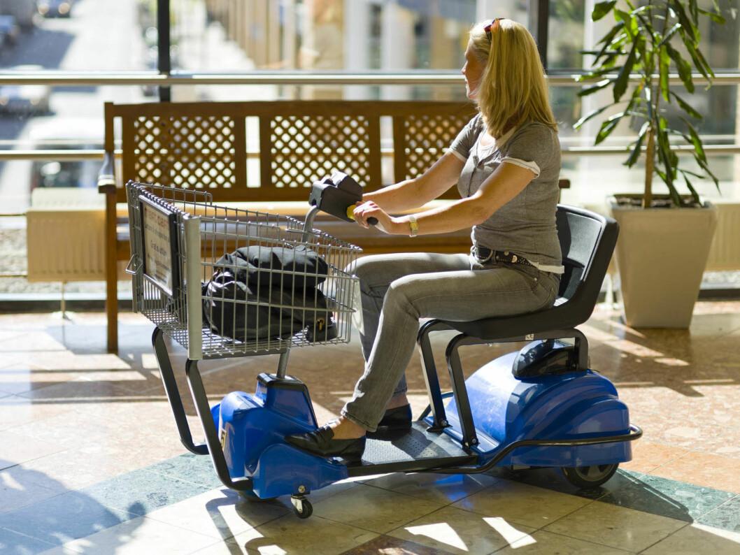 Mart Cart elektriske handlevogner og rullestoler, er fortsatt hjertebarnet til Silmar-gründer Ingar Paul Tax
