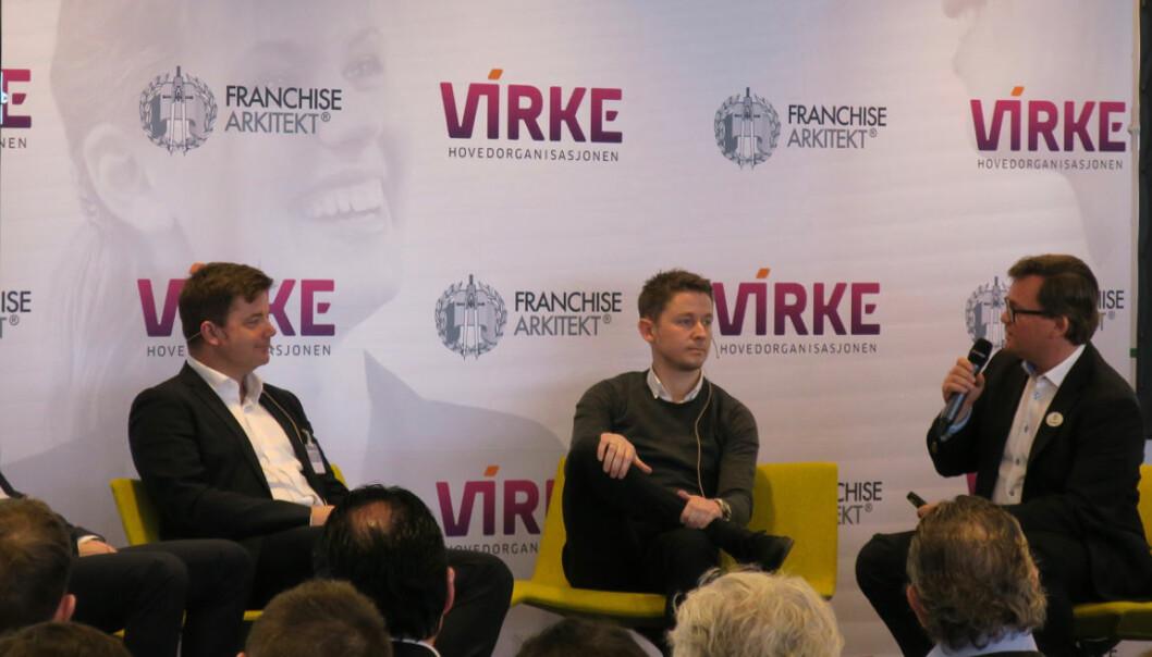 Ledelse gjennom pandemien blir belyst på Franchisekonferansen. (Ill. foto fra en tidligere konferanse.)