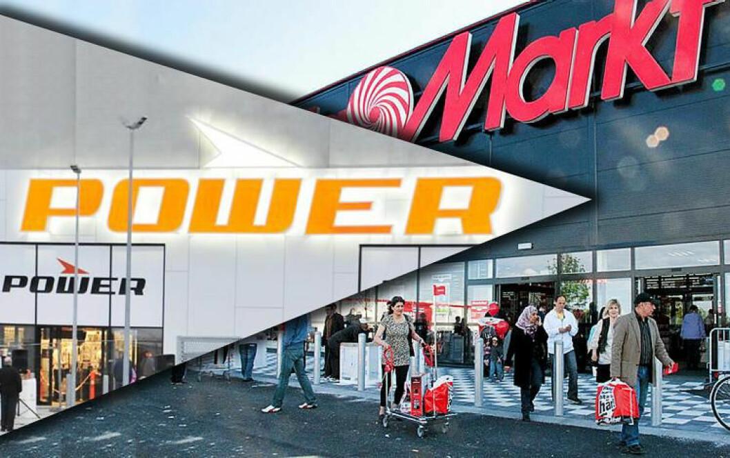 Skiftet eier og profil: Power tok over Media Markts 27 varehus i februar. (Illustrasjon: market.se)