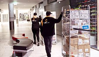 Effektiviserer varelevering ut i butikk