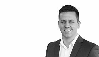 Håvard Hallås er salgsdirektør i Element Logic