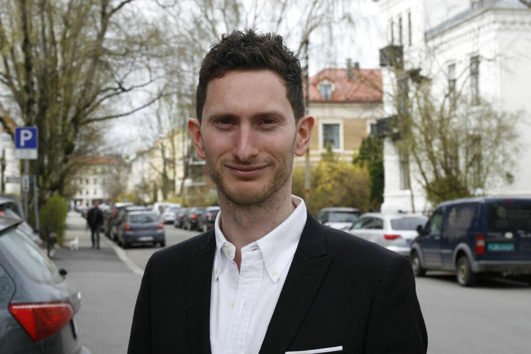 Danske Kenneth Melchior er Norden-sjef i Zalando. Foto: Ove Hansrud