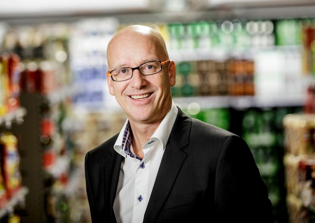 Geir Inge Stokke: – Det har aldri vært så moro å jobbe i Coop. (Foto: Coop)