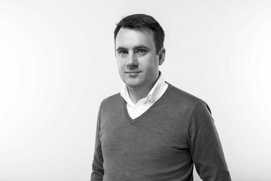 Martin Ulvestad Østerdal: – Det er helt klart mye å hente for flere ved å melde seg inn i Virke, sier nyansatt. (Foto: Virke)