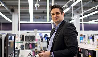 Fredrik Tønnesen er direktør for Elkjøp Norge