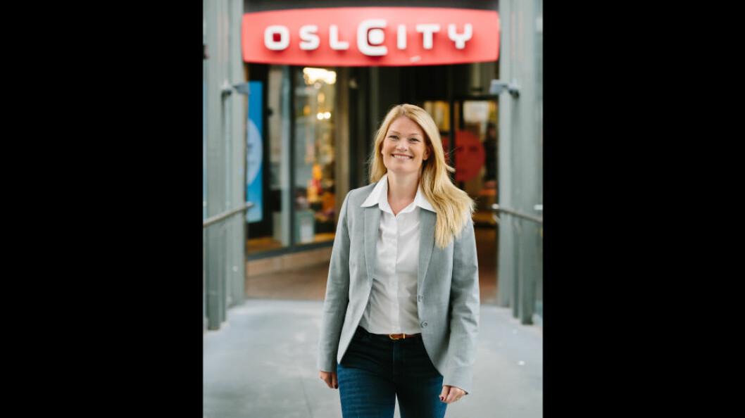 Ina Georgsen har bred bakgrunn fra varehandel, senterledelse og markedsføring av kjøpesentre. (Foto: May Hege Paulsen)