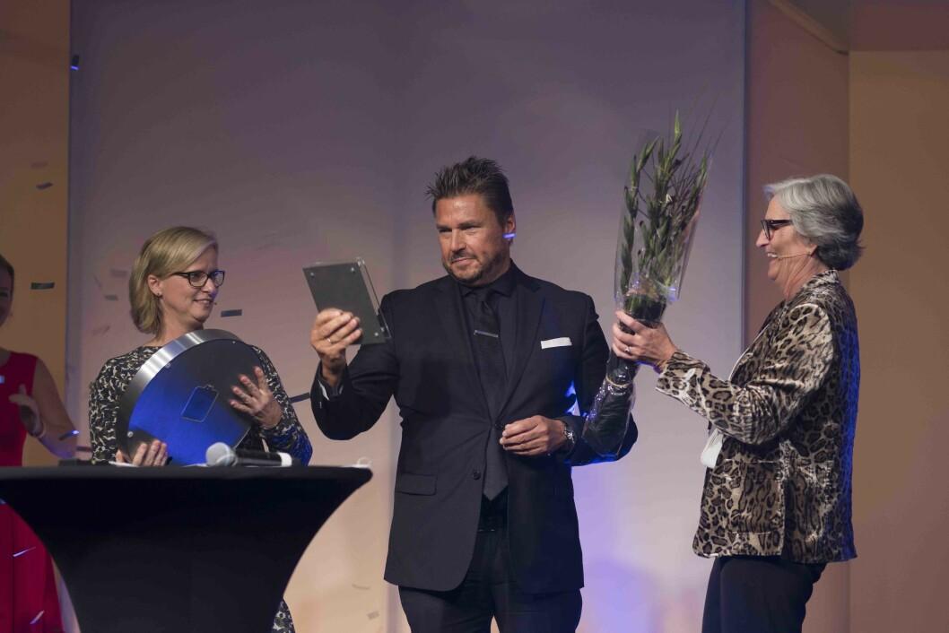 Dressmann-sjef Petter Varner er Årets retailleder 2017. Foto: Virke