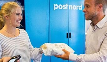 Pick-up points på PostNords terminaler