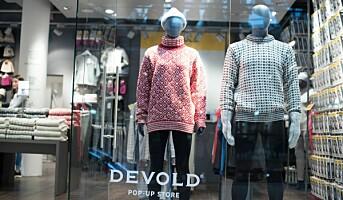 Devold med pop-up-butikk i Oslo sentrum