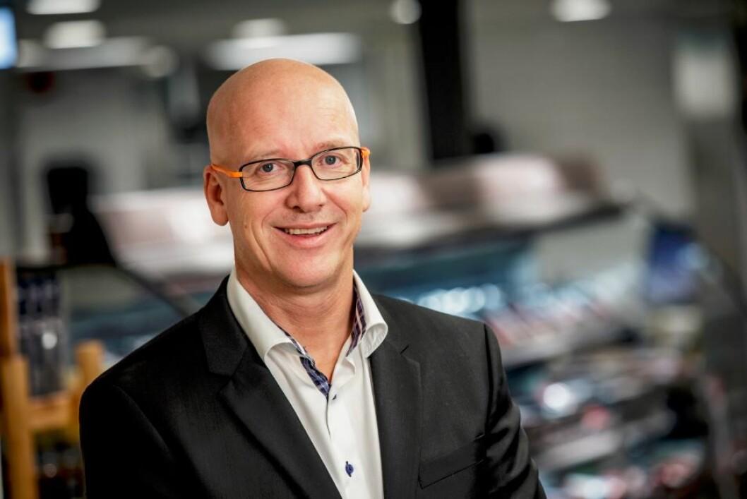 Geir Inge Stokke, konsernsjef i Coop Norge som fortsetter å spise markedsandeler.