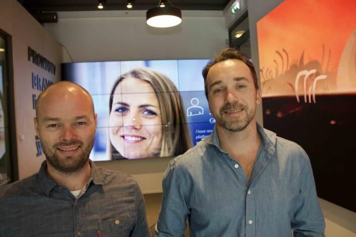 Jørn Olsen og Ola Sæverås i ProntoTV bruker sin kunnskap til å hjelpe retailaktører til å selge mer produkter.