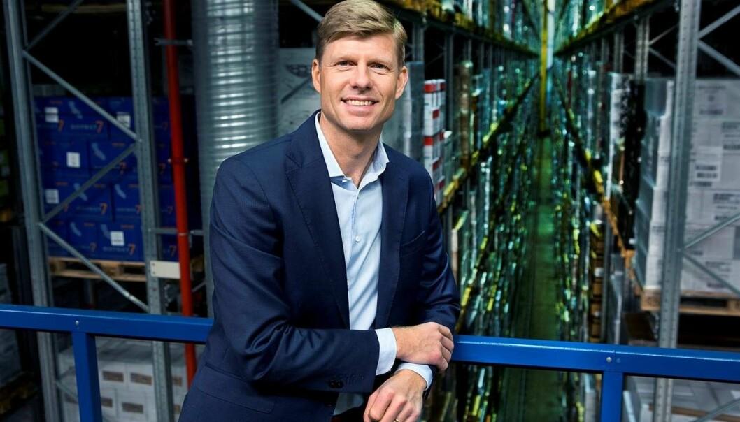 Per Öhagen, konserndirektør for e-handel og logistikk i Posten Norge, bygger nå Brings andre fullautomatiserte lagerløsning.