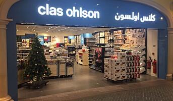 Clas Ohlson stenger i Dubai