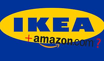Mulig samarbeid mellom Ikea og Amazon
