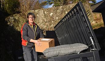 Posten tester gjem-levering