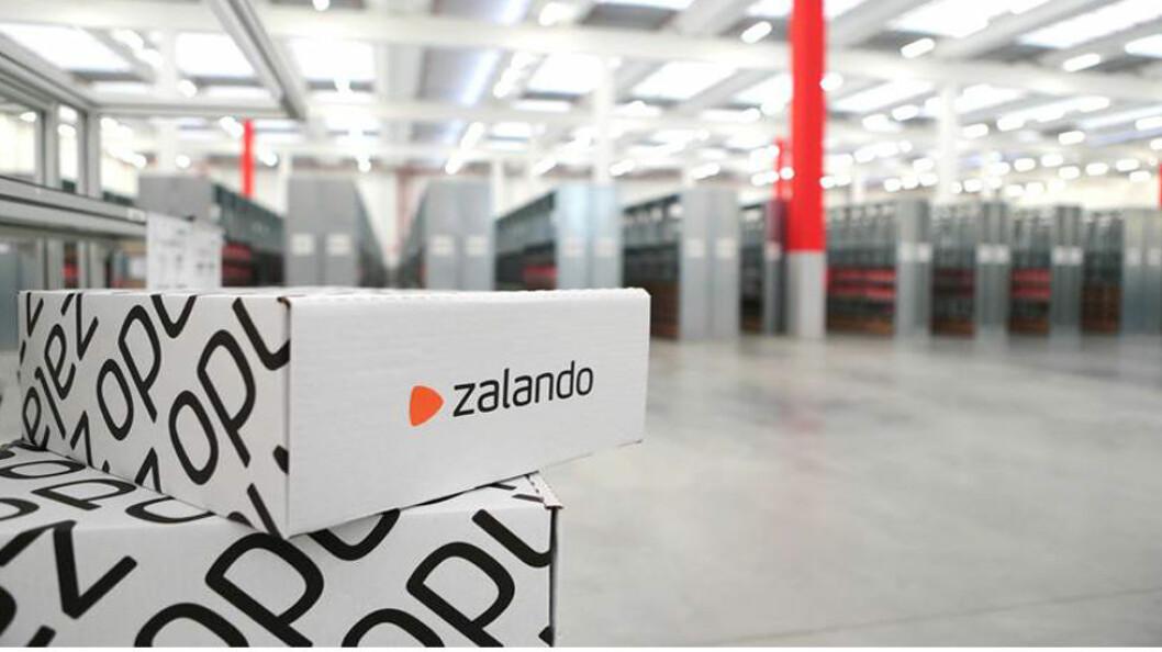 FORVENTER VEKST: Zalando forventer fortsatt vekst i 2018.