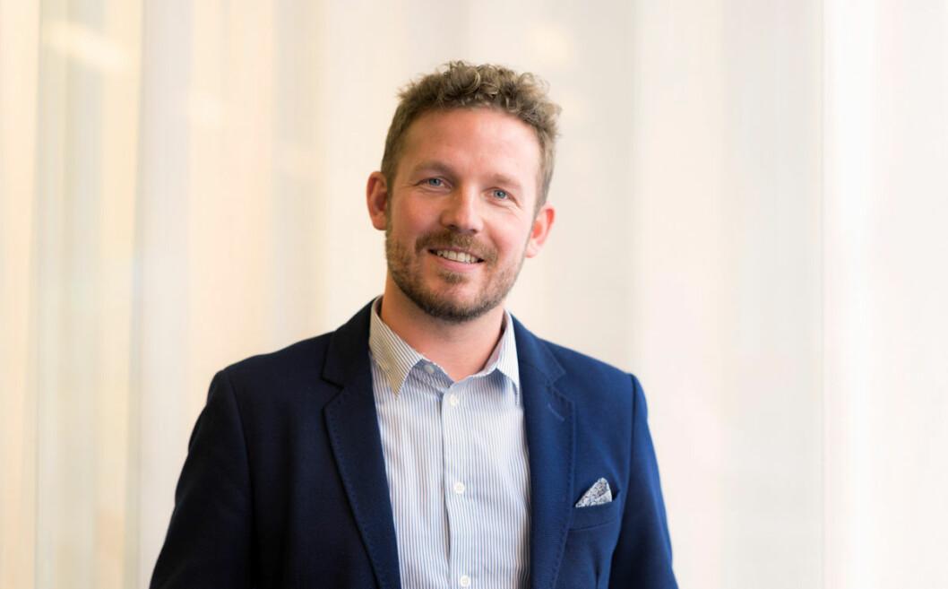 Martin Danås får ansvar for å etablere Visual Art i Norge og finne nye kunder. Til å begynne med vil han fokusere på detaljistmarkedet. (Foto: Visual Art)