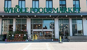 Amazon med popup på Whole Foods Market