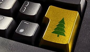 Mye av julegavehandelen foregår på nett