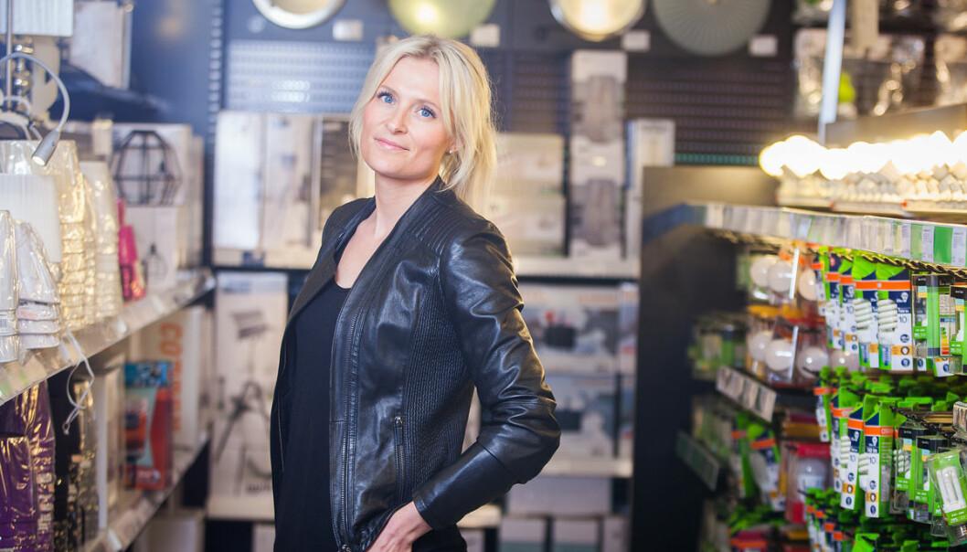 Stine Trygg-Hauger er Chief Commercial Officer og adm. dir. Clas Ohlson Norge.