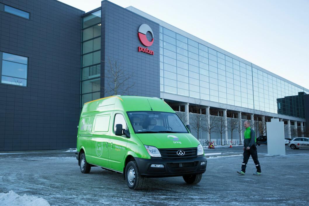 Kjell Arne Hagen har jobbet 23 år i Posten. Nå skal han kjøre kinesisk varebil i Oslo sentrum. (Foto: Håvard Jørstad / Posten)