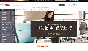 Kinesisk netthandelsgigant på vei til Europa