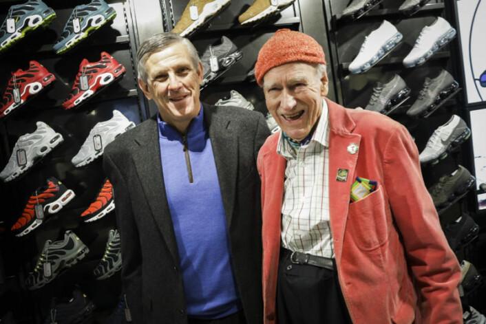 – Jeg er imponert over grundigheten som Foot Locker legger ned i det å åpne en ny butikk, sier Olav Thon.