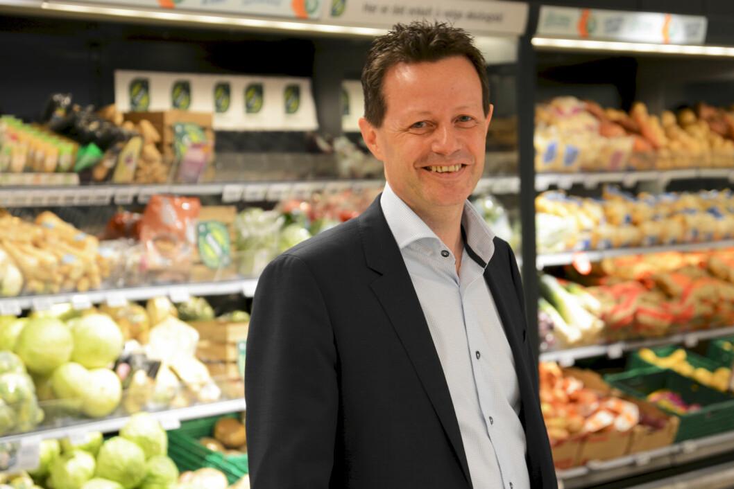 – Fordelsprogrammet Trumf hjelper oss å innfri kundenes forventninger, sier Runar  Hollevik. (Foto: NorgesGruppen)