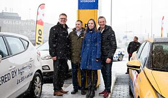 Uno-X har åpnet sin første hydrogenstasjon i Bergen