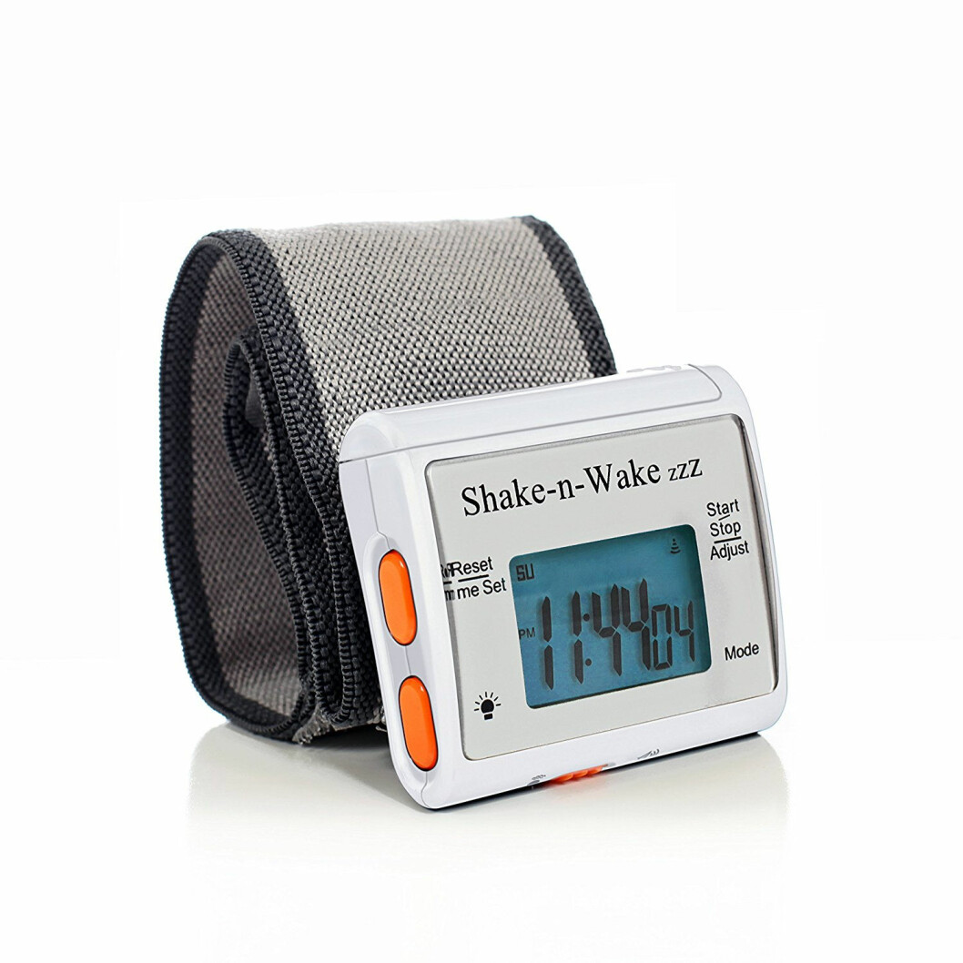 Det nye patentet er en videreføring av Amazons alarmklokke som også baserer seg på vibrasjoner. (Foto: Amazon)
