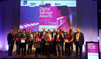 ProntoTV vant pris under Digital Signage Awards