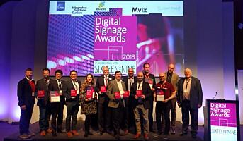ProntoTV vant pris under Digital Signage Awards
