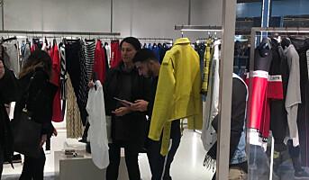 Zara med moderne pop-up