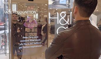 H&M tester interaktive speil