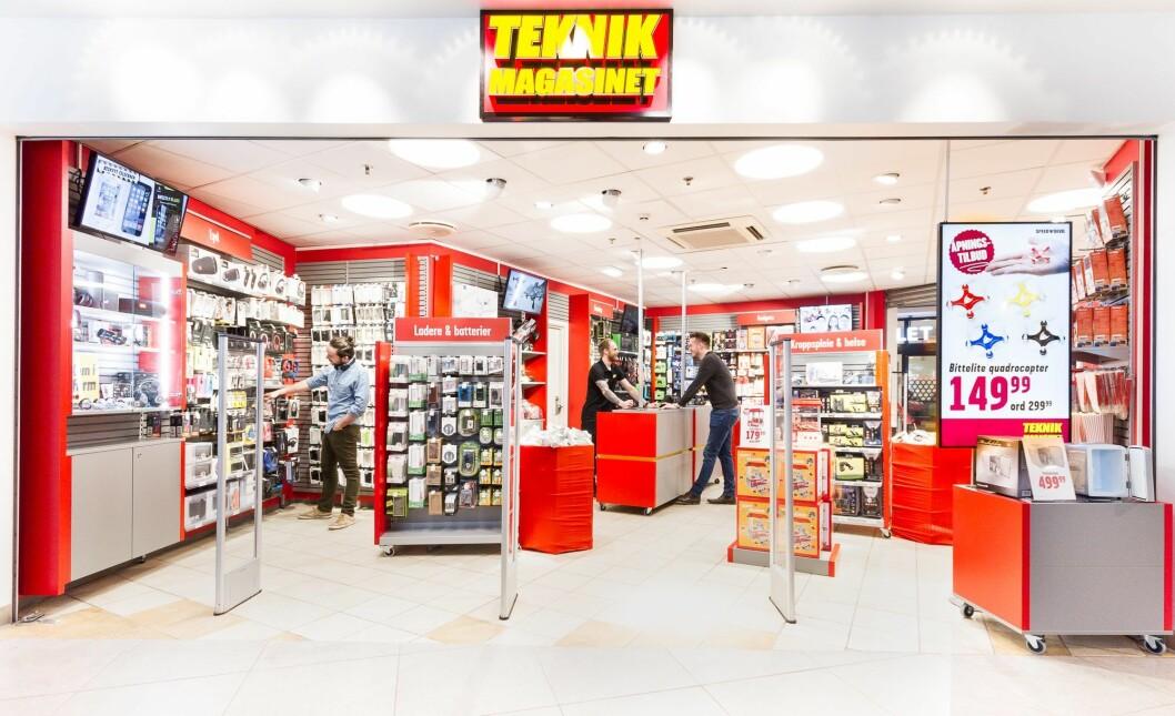 Teknikmagainets konseptbutikk på Tveita. Foto: Teknikmagasinet