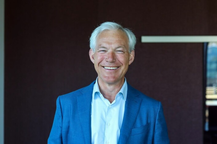 Sverre Thornes er konsernsjef i KLP.