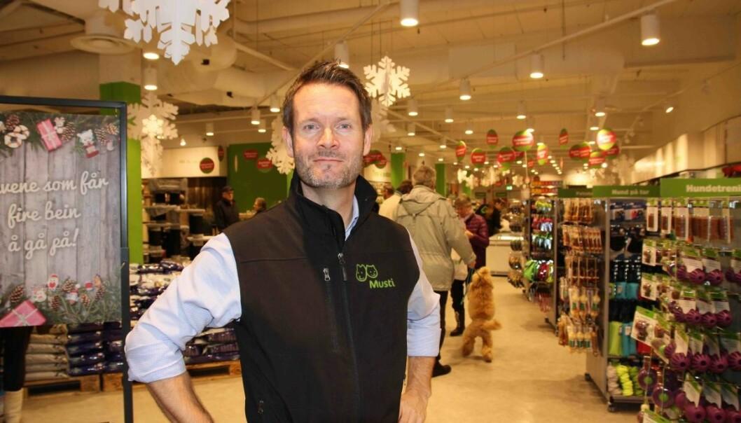 Erik Ringen Skjærstad er adm. dir i Musti Norge.