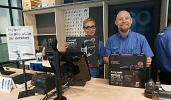 Clas Ohlson låner ut verktøy gratis