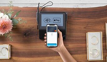 Mastercard gjør Apple Pay tilgjengelig for norske brukere