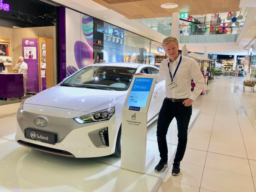 KJØPE BIL: Nå kan man reise til kjøpesenteret på Hamar for å kjøpe bil. Foto: CC Hamar