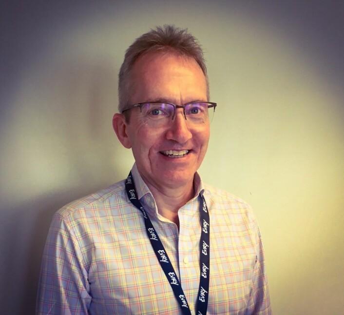 Børre Midtgard, Salgs- og Markedsdirektør i Card, Financial Services, EVRY.