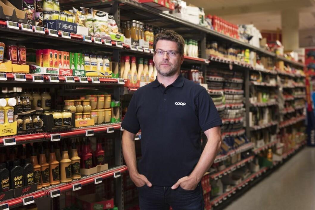 – Coop kommer til å passere 1,7 millioner medeiere i 2018 og det ligger an til rekordstort kjøpeutbytte, sier Harald Kristiansen, kommunikasjonssjef i Coop. Foto: Coop.