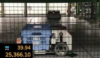 Robotvogn plukker varene