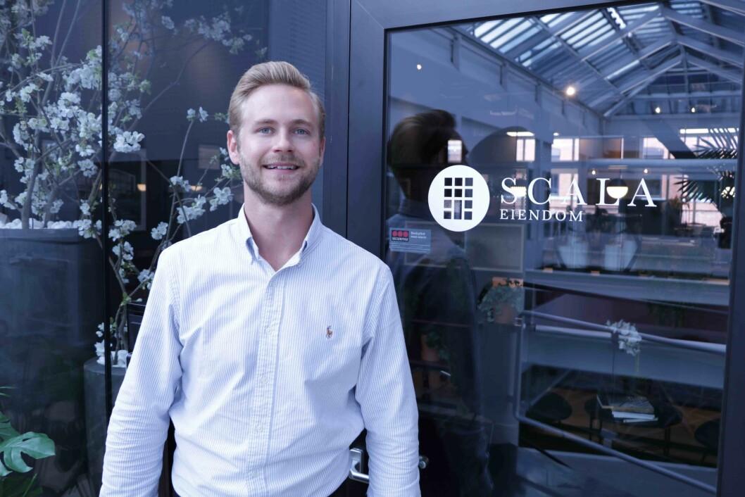 Nicolai Kiilerich er ny eiendomssjef i Scala Eiendom. Foto: Scala Eiendom