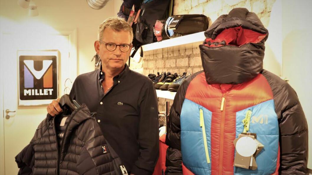 Øistein Gulbrandsen skal sørge for at Millet gjør et skikkelig comeback i Norge. (Foto: Tekstilforum)