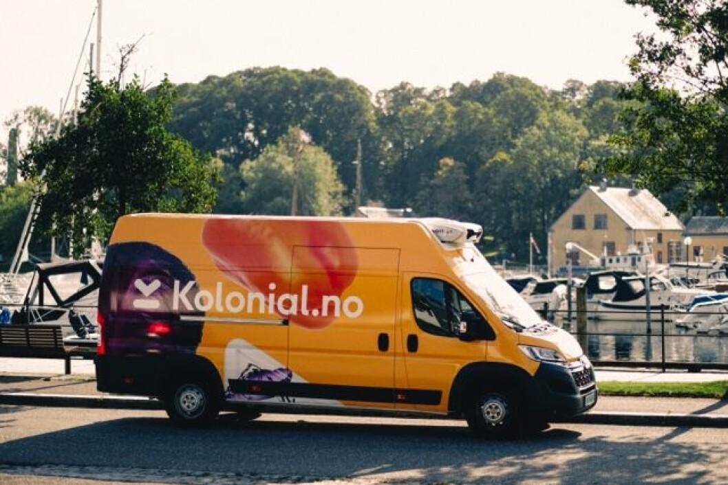 Kolonial.no leverer mat til nesten hele Østlandet fra kr. 0,-. (Foto: Kolonial.no)