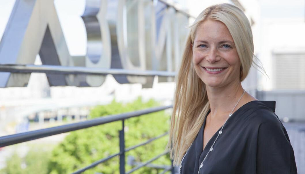 Susanne Ehnbåge begynte som sjef i Lindex 10. august. Foto: Lindex